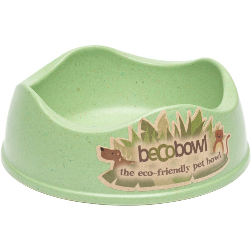 Becobowl Eco Friendly Dog Bowl Green