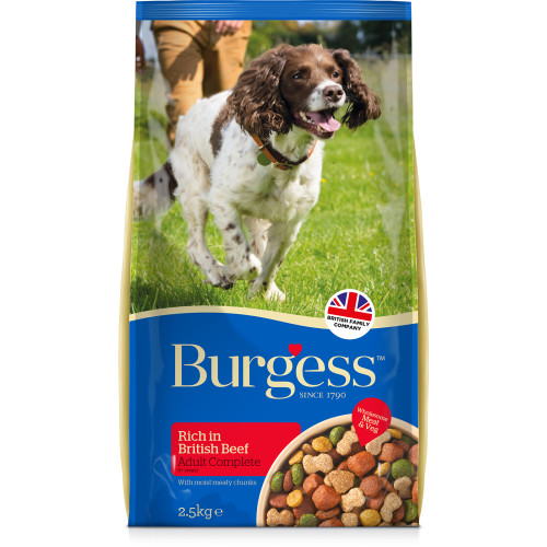 Burgess Complete Beef Adult Dog Food 15kg