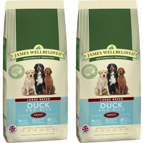 James Wellbeloved Duck & Rice Adult Large Breed Dog Food