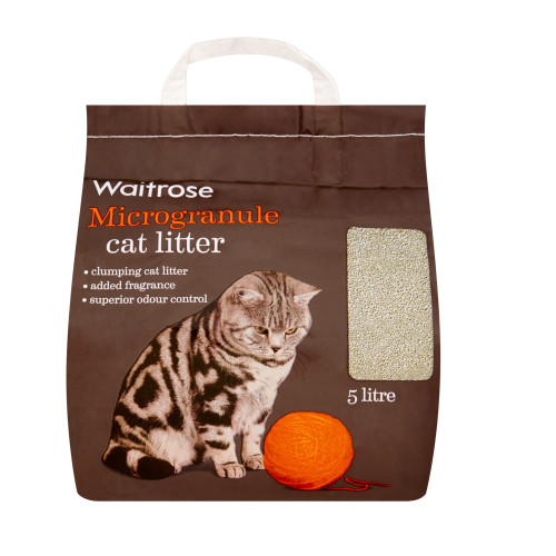 Waitrose Microgranule Cat Litter