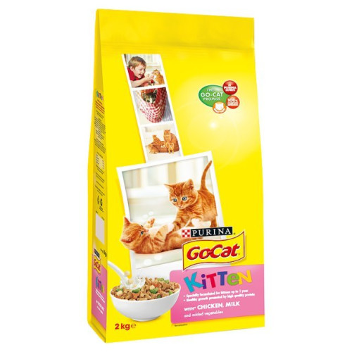 Go-Cat Chicken Milk & Vegetable Kitten Food
