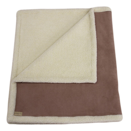Earthbound Sherpa Caramel Dog Blanket