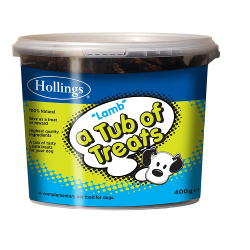 Hollings Tub Lamb Dog Treats