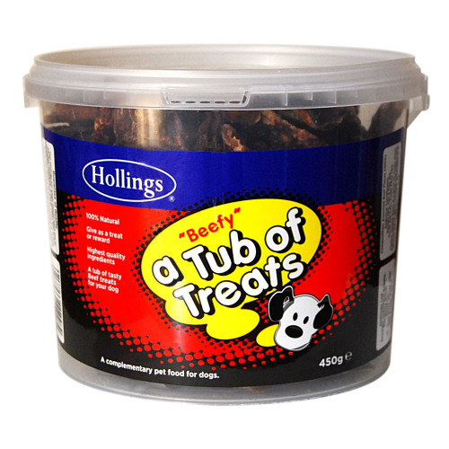 Hollings Tub Beef Dog Treats