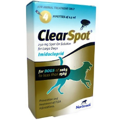 ClearSpot Spot On for Dogs