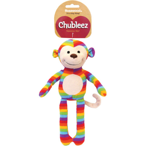 Chubleez Sonny Monkey Dog Toy