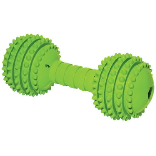 Rosewood Cyber Rubber Dumbell Dog Toy