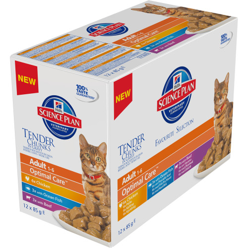Hills Science Plan Feline Adult Pouches