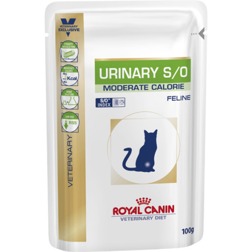 Royal Canin Veterinary Urinary Moderate Calorie Cat Food