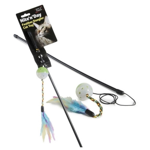 Nite n Day Feather Dangler Cat Toy