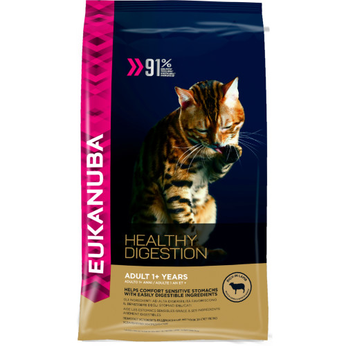 Eukanuba Healthy Digestion 1+ Rich in Lamb Adult Cat Food