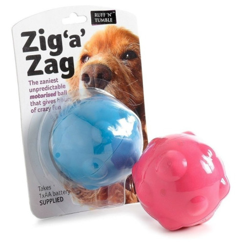 Zig a Zag Ball Dog Toy
