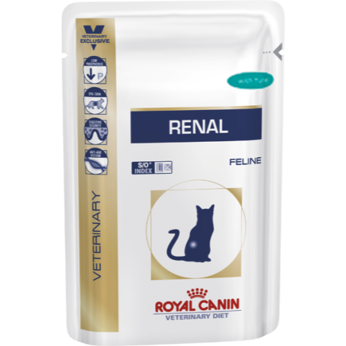 Royal Canin Veterinary Diets Renal Cat Food Pouches 85g x 48 Tuna
