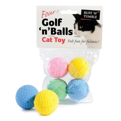 Golf n Balls Cat Toy
