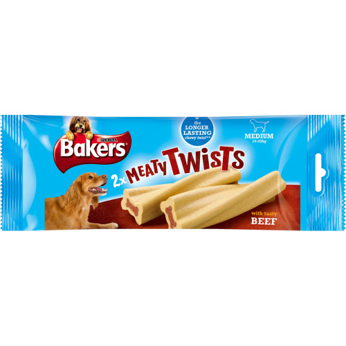 Bakers Meaty Twists Dog Treats