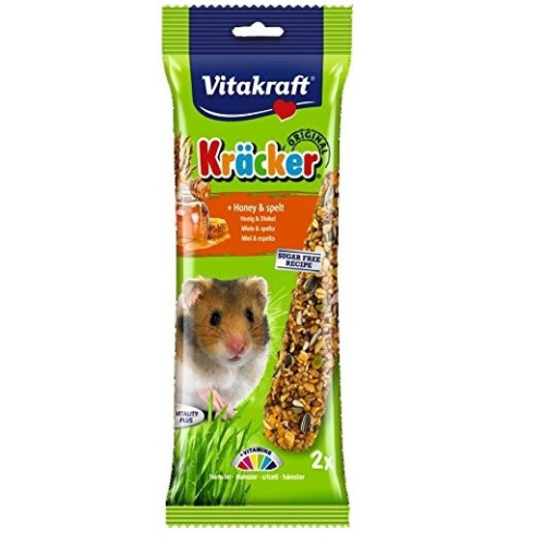 Vitakraft Kracker Hamster Honey Sticks