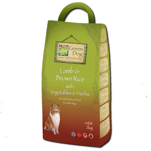 Greendog Lamb & Brown Rice Adult Dog Food