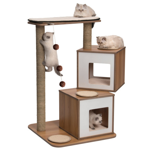 Vesper V Double Walnut Cat Furniture