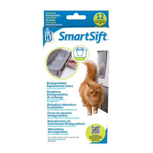 Catit Design Smart Sift Replacement Liners Pull Out Waste Bin