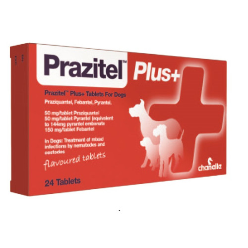 Prazitel Plus Flavour Dog Tablets