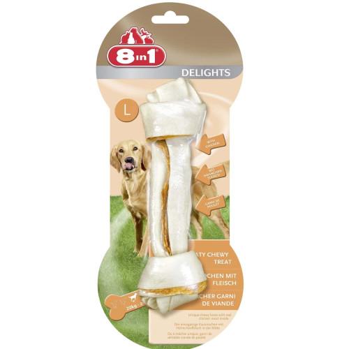 8in1 Delights Chicken Dog Bones Large