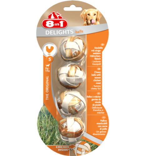8in1 Delights Chicken Balls Dog Treats