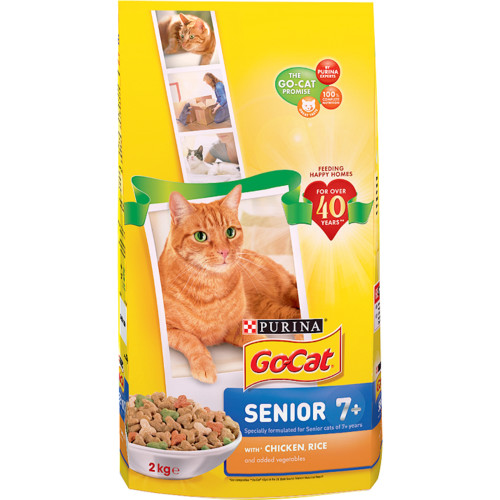 Go-Cat Chicken & Rice Senior Cat Food