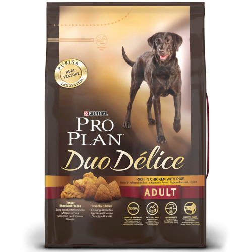 PRO PLAN Duo Delice Chicken & Rice Adult Dog Food