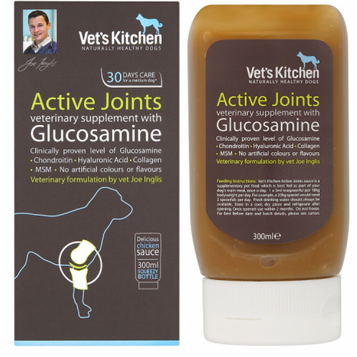 Vet's Kitchen Active Joints Supplement 300ml Squeezy Bottle
