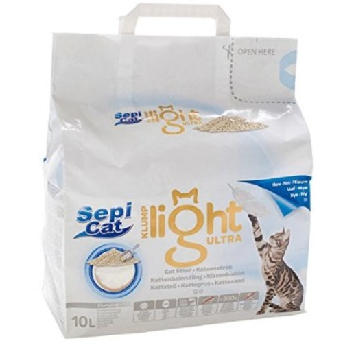 Sepicat Clumping Ultra Light Cat Litter