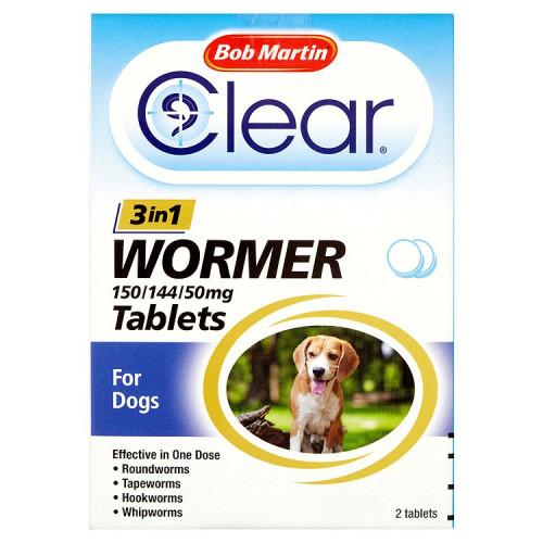 Bob Martin 3 In 1 Dog Wormer