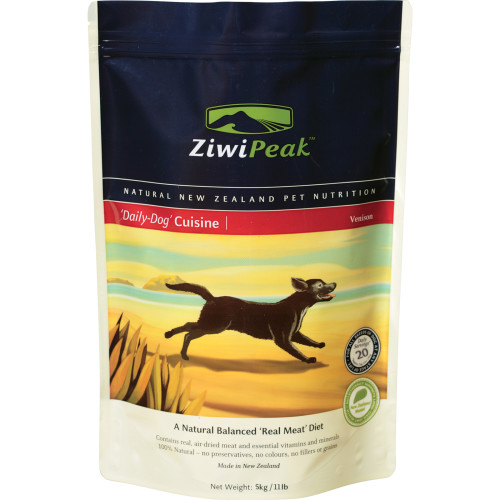ZiwiPeak New Zealand Venison Dry Dog Food