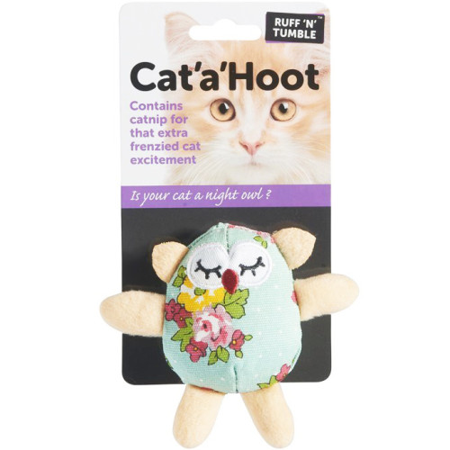 Sharples N Grant Ruff n Tumble Cat a Hoot Cat Toy