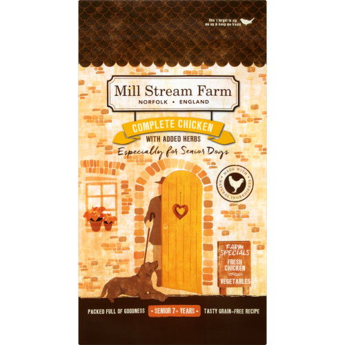 Mill Stream Farm Chicken Senior Dog Food