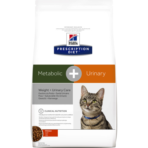 Hills Prescription Diet Feline Metabolic + Urinary