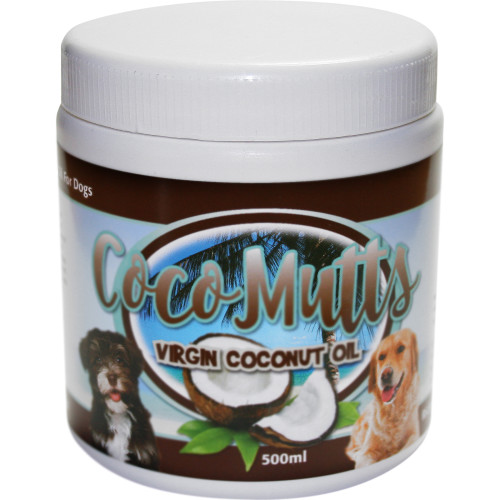 CoCoMutts Virgin Coconut Oil for Dogs 500ml
