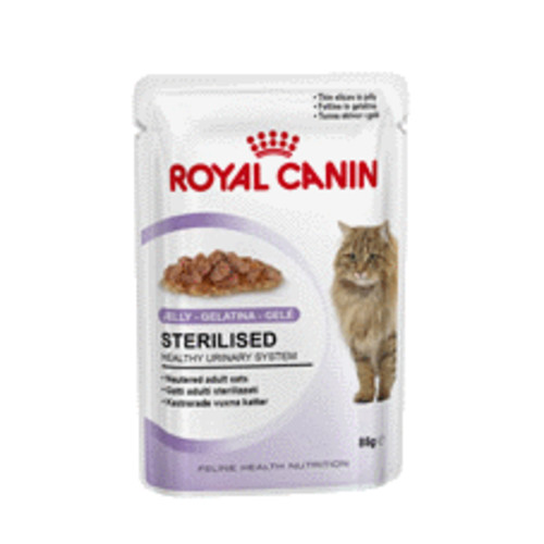 Royal Canin Sterilised in jelly Adult Cat Food