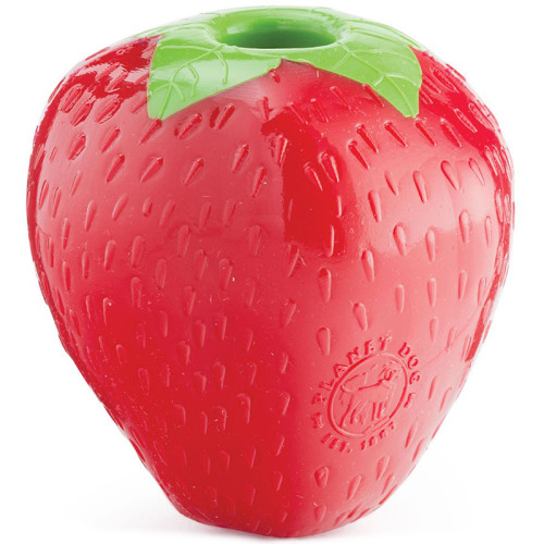 Planet Dog Orbee Tuff Strawberry Dog Toy
