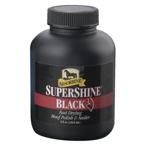 Absorbine SuperShine Hoof Polish Black 237ml