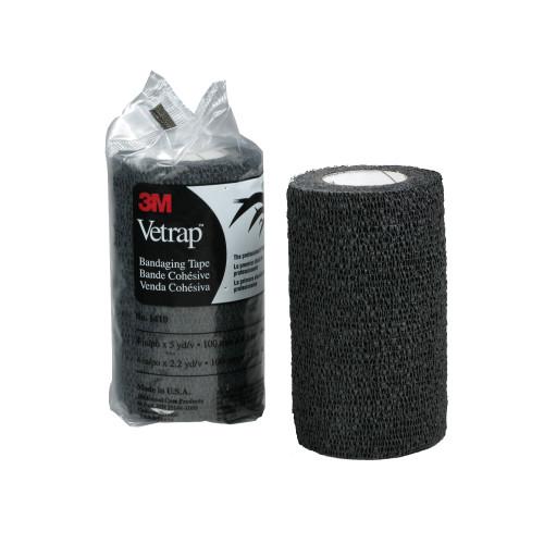 3M Vetrap Bandage Black 10cm
