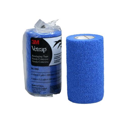 3M Vetrap Bandage Blue 10cm