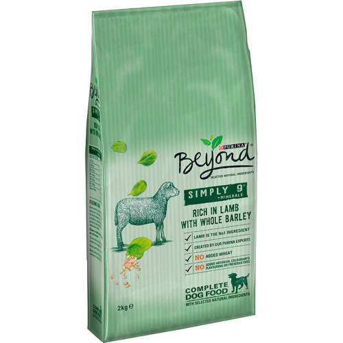 Purina Beyond Simply 9 Lamb & Barley Adult Dog Food