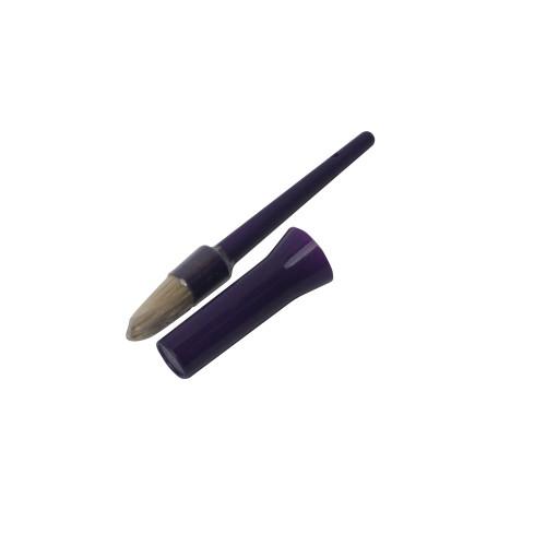 Bitz Hoof Oil Brush with Cap Purple