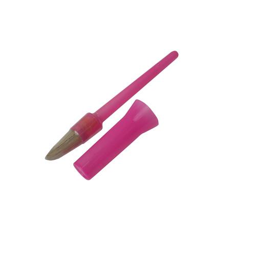 Bitz Hoof Oil Brush with Cap Pink