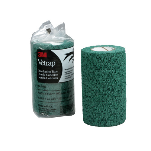 3M Vetrap Bandage Hunter Green 10cm