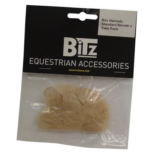 Bitz Hairnet Standard Blonde Twin Pack