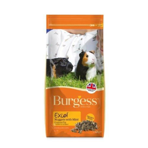 Burgess Excel Nuggets Guinea Pig Food