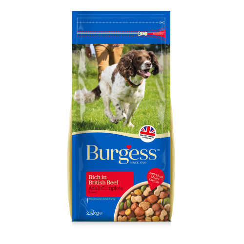 Burgess Complete Beef Adult Dog Food 2.5kg