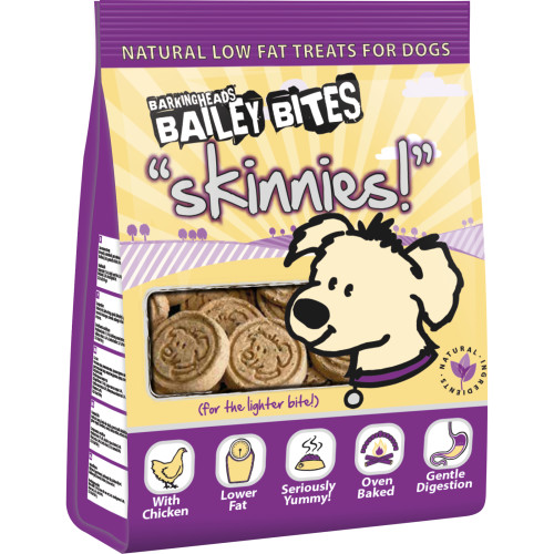 Barking Heads Bailey Bites Skinnies Natural Dog Treats