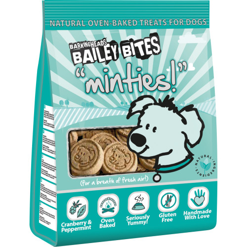 Barking Heads Bailey Bites Minties Natural Dog Treats